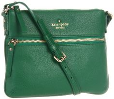 Amazon.com: Kate Spade New York Cobble Hill-Tenley PWRU2587 Cross Body,Forest,One Size: Clothing