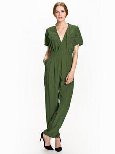 Croft Jumpsuit - Motel - Moss - Jumpsuit - Odzież - Kobieta - Nelly.com