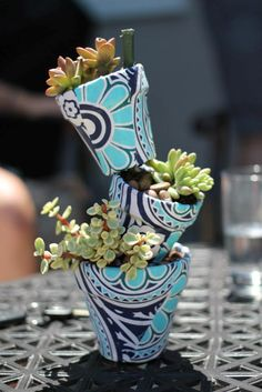 Great succulent planter.