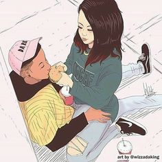 art by ile ilgili görsel sonucu Black Couple Art, Black Love Art, Arte Dope, Dope Art, Comic Anime, Anime Art, Couple Illustration, Illustration Art, Arte Black