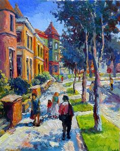 """Street in Washington DC (Midday) by Suren Nersisyan 