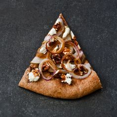 Pear, Pecan and Goat Cheese Pizza