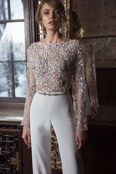28c9e7e505f Dror Geva Jumpsuit 2017 Bridal collection WWW.DROR-GEVA.COM דרור גבע שמלות