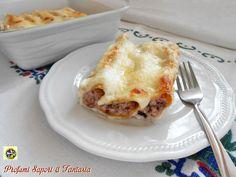 Cannelloni al radicchio e ricotta con prosciutto, un'ottimo primo piatto gratinato, ideale per la domenica o i giorni di festa, un gustoso mix di sapori.