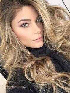beautiful, beauty, blonde, blonde hair, fashion, green eyes, hair, hairstyle, makeup, pink, quality, style, tumblr, tumblr girl, tumblr hair