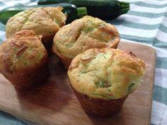 muffin salati con zucchine