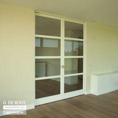 Sliding Doors, Glass Door, China Cabinet, Bathroom Medicine Cabinet, Bungalow, New Homes, Windows, Living Room, Storage