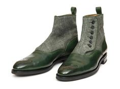 Westlake GMTO - Forest Green Calf/Military Canvas