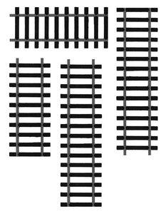 train track template