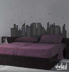 Ideas de carteles para decorar paredes de dormitorios
