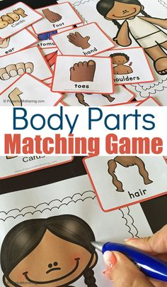 A Fun Game To Help Teach Children About The Body