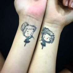 47+ Tatuajes para Mejores Amigas que Desearán Tener (2019) Tattoos For Daughters, Sister Tattoos, Love Tattoos, Tatoos, Best Friend Mug, Friend Mugs, Ink Addiction, Piercings, Tattoo Art