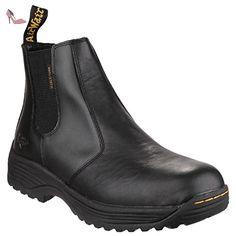 Dr Martens Cottam - Bottines de sécurité - Adulte unisexe (48 EUR) (Noir) - Chaussures dr martens (*Partner-Link)