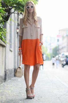 Con el molde de vestido camisero que tengo puedo hacerme algo parecido.