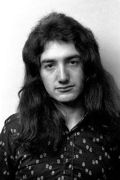John Deacon Shots by Peter Mazel on November 22nd 1974