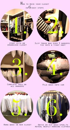 I will be using this for my next move! Thanks Xtina! How to move your closet in 6 steps | FUJI FILES
