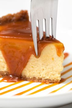 Velvety, rich and delicious, few desserts rule the table like cheesecake. This salted caramel cheesecake made in the Instant Pot takes the top prize.