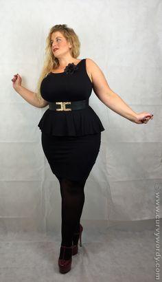 I review the New Look Inspire Jersey Peplum Dress http://www.curvywordy.com/2015/02/new-look-inspire-jersey-peplum-dress-18.html