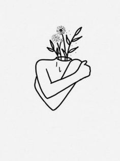 self love flowers love tatoo Self Love Symbol, Self Love Tattoo, Love Tattoos, Sketches Of Love, Love Drawings, Easy Drawings, Art Sketches, Face Painting Tutorials, Face Painting Designs