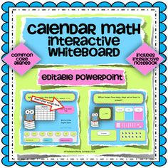 This is a great morning meeting activity that you can use on your interactive white board, without taking up a lot of valuable bulletin board space! This product gives a daily review of Common Core Math and ELA standards as well as daily attendance.