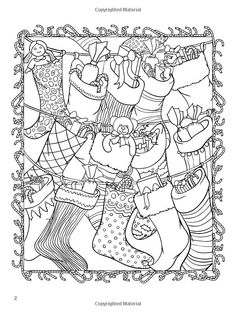 ChristmasScapes Coloring Book Creative Haven