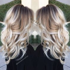 Balayage Hair Color Blonde