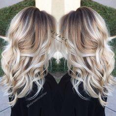 Balayage Hair Color Blonde
