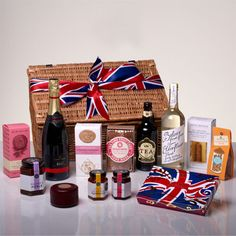 the-union-jack-diamond-jubilee-hamper-gift.The perfect way to celebrate the Jubilee or fly the flag for the Olympics, £119
