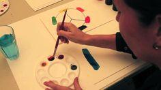 Farveblanding - Britta Johanson viser, hvordan man blander farver