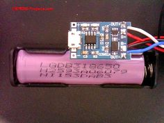 18650 Li-ion Battery solution for ESP8266 Modules w/ battery protection modules