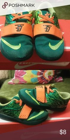 8f572e2dafb Nike Kd⛹ ⛹ Nike Keven Durant Small hole in front Play shoes I