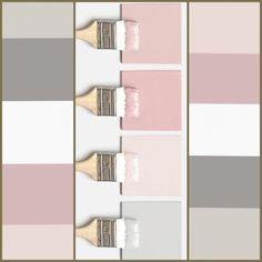Paleta de cores que amooo! Mas claro que cada projeto tem seus difer. - COLOR : Paleta de cores que amooo! Mas claro que cada projeto tem seus difer. Paint Colors For Living Room, Paint Colors For Home, Room Paint, Bedroom Colors, House Colors, Living Room Decor, Bedroom Decor, Paint Paint, Girl Bedroom Designs