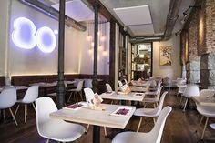 80 Grados - C/ Mirallos, 4, Madrid #restaurante #madrid #copas