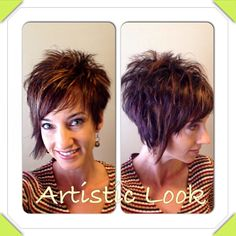 Today we have the most stylish 86 Cute Short Pixie Haircuts. We claim that you have never seen such elegant and eye-catching short hairstyles before. Pixie haircut, of course, offers a lot of options for the hair of the ladies'… Continue Reading → Sassy Haircuts, Short Pixie Haircuts, Cute Hairstyles For Short Hair, Bob Hairstyles, Curly Hair Styles, Formal Hairstyles, Modern Haircuts, Short Asymmetrical Hairstyles, Wedding Hairstyles