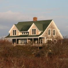 nantucket dormer architecture | This is one of the first Nantucket ...