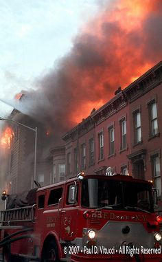 This 4 alarm department store fire occurred in the Bushwick / Bedford  Stuyvesant section of Brooklyn
