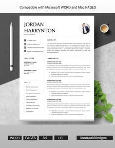 Standing out from the crowd is our main aim so you can just choose any resume template and customise your resume yourself Resume Cover Letter Template, Modern Resume Template, Letter Templates, Resume Templates, Resume Cv, Resume Design, Company Letterhead Template, Office Jobs, Creative Resume