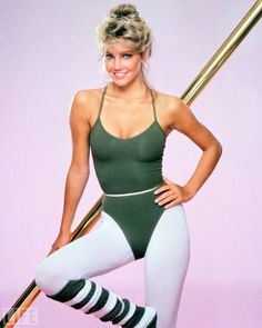 Let me see you do the Jane Fonda! Aerobics, legwarmers and spandex is what you need to work out in, in the '80s