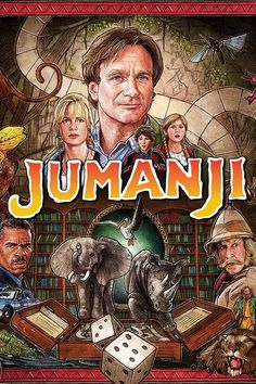 Jumanji Blu-ray DVD cover