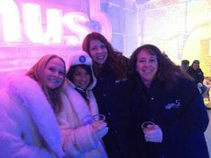 Staying cool at the ice bar! #3rdWave