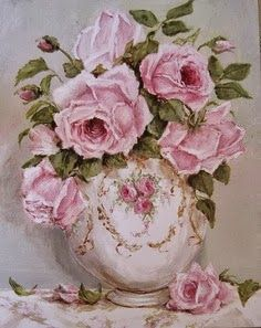 'Pink Roses' So amazingly beautiful! Roses are always an inspiration to me!