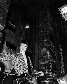 Ziggy Stardust may have been the character that made David Bowie a rock 'n' roll legend, but he hadn't fully embodied his alter ego — with his skintight, androgynous costume…