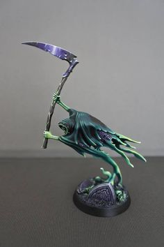 Nighthaunt Age of Sigmar has members. This group is dedicated to Games Workshop's Warhammer Age of Sigmar Nighthaunt faction. Warhammer 40k Figures, Warhammer Paint, Warhammer Aos, Warhammer Fantasy, Warhammer 40000, Zombicide Black Plague, Fantasy Model, 3d Figures, Fantasy Battle