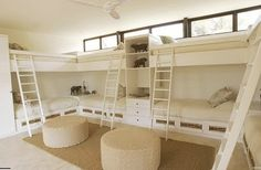 bunks, bunks, and more bunks!