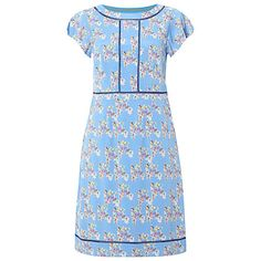 White Stuff Carmen Dress, Wash Blue Online at johnlewis.com