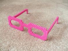 Glasses perler beads by Andrea B. - Perler® | Gallery