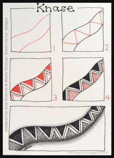 Zentangle Patterns Step By Step Holly atwaters step out