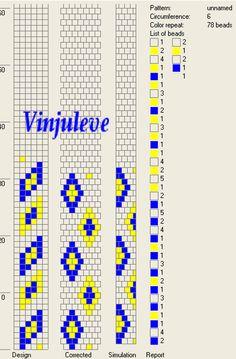 6 around tubular bead crochet rope pattern Bead Crochet Patterns, Kandi Patterns, Bead Crochet Rope, Peyote Patterns, Beading Patterns, Beaded Crochet, Crochet Beaded Bracelets, Beaded Bracelet Patterns, Seed Bead Bracelets