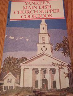 YANKEE'S MAIN DISH CHURCH SUPPER COOKBOOK 1980