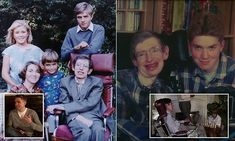 A touching portrait of Stephen Hawking's family life.by his son Tim Stephen Hawking Family, Neurone, Albert Camus, Physicist, Family Life, Documentaries, Sons, Father, Portrait
